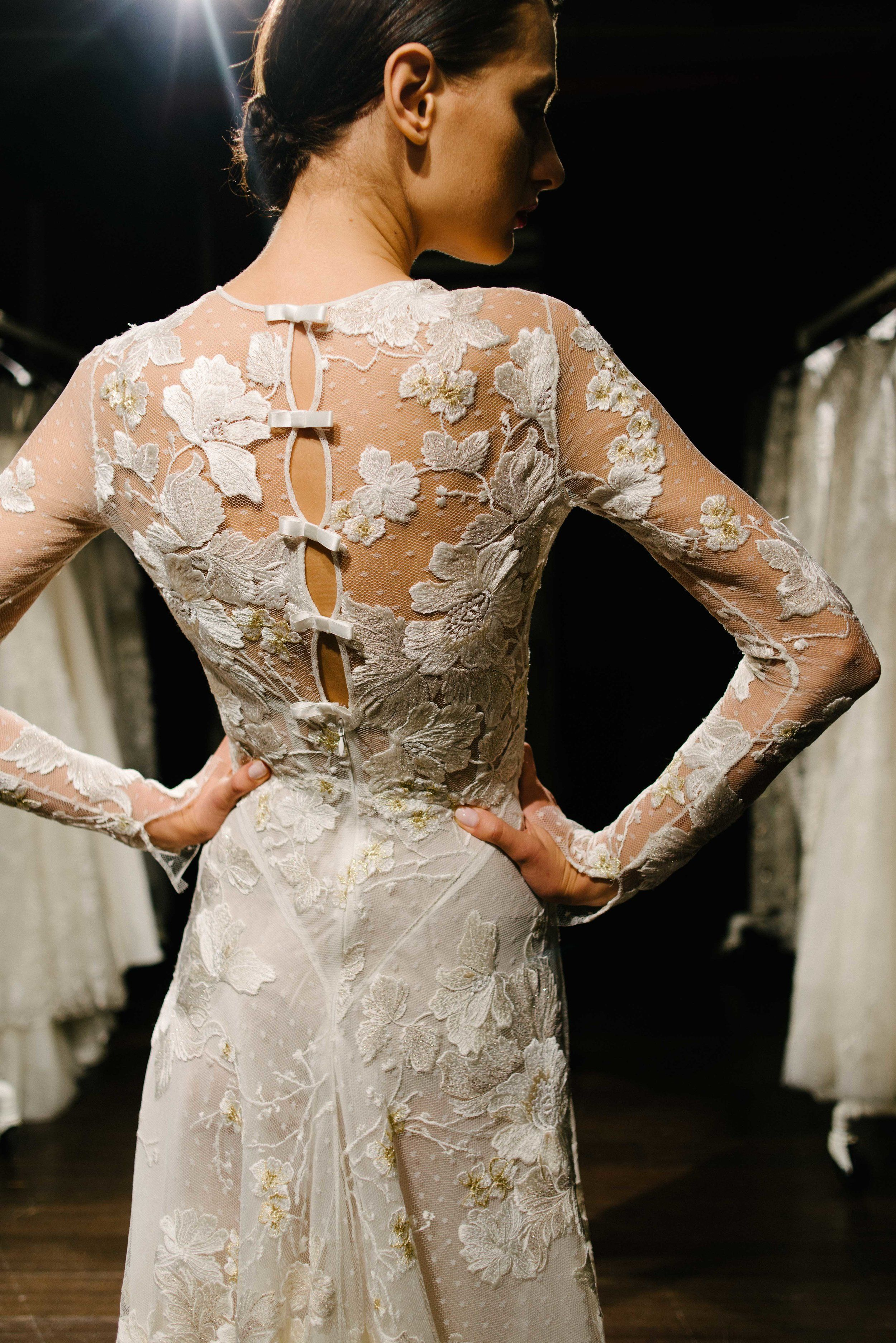 In The Showroom With The New Naeem Khan Bridal Collection Naeem