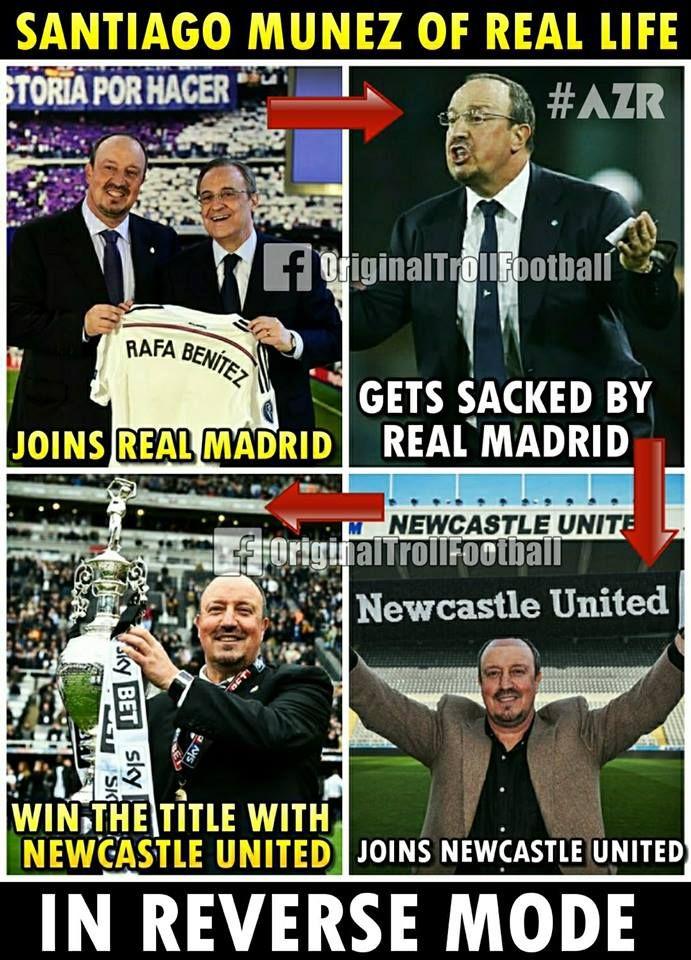 "The New GOAL Movie Starting Rafa Benitez! "" | Football jokes"