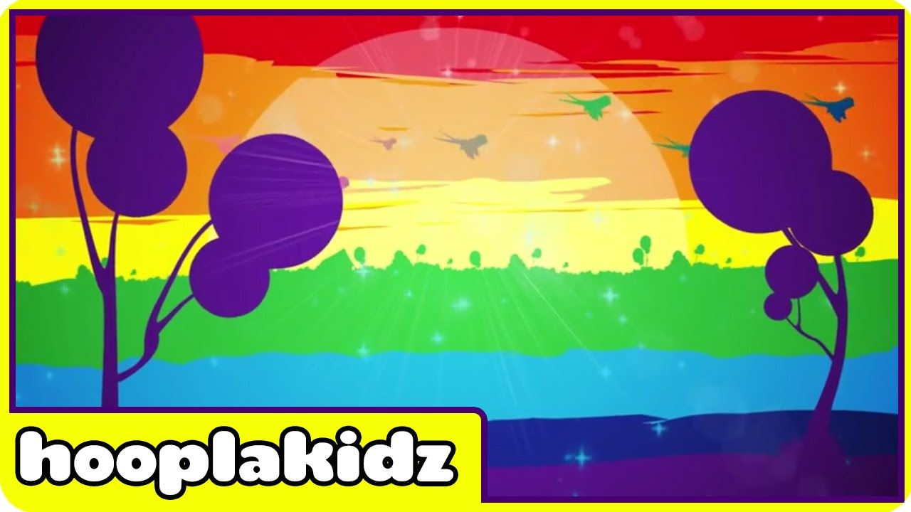 Rainbow Colors Song | Learn Colors For Children with Hooplakidz ...
