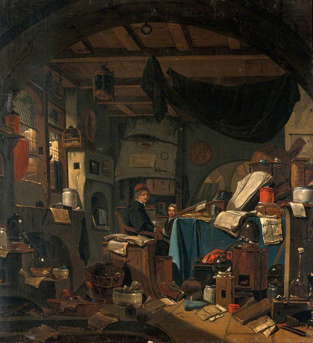 Thomas Wyck ou Thomas Wijck ou Thomas Wijk (1616