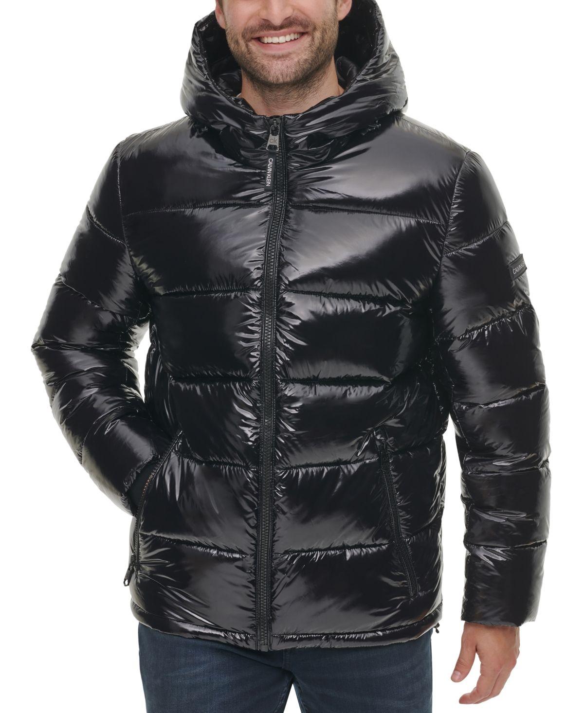 Calvin Klein Men S High Shine Puffer Jacket Reviews Coats Jackets Men Macy S Swag Outfits Men Calvin Klein Men Puffer Jackets [ 1466 x 1200 Pixel ]