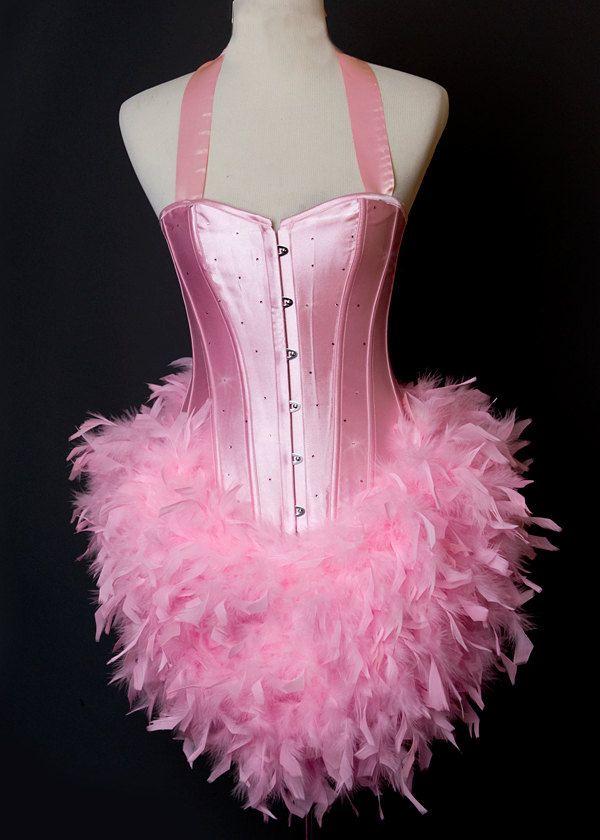 Pink Diamond : Flamingo Las Vegas Showgirl Burlesque Adult Halloween Costume Etsy.