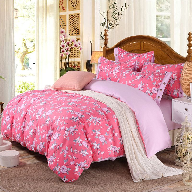 Cotton Luxury Bedding Set Duvet Cover Set King Twin Queen