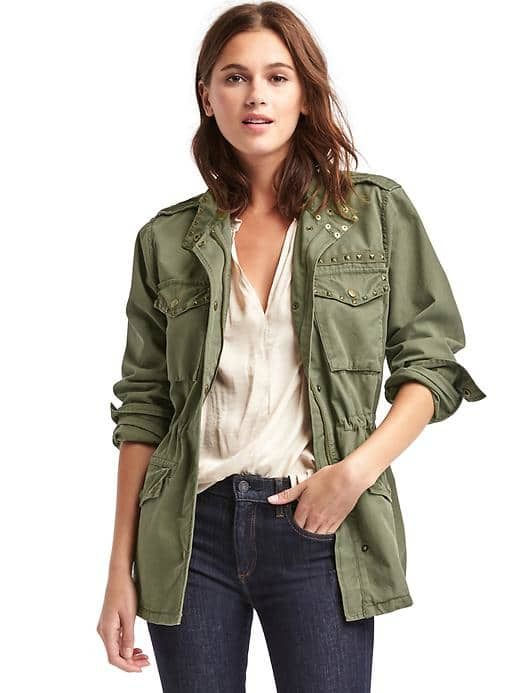 8bae0f8f40569 Tencel® utility wrap jacket | Gap | Zapatos | Jackets, Utility ...
