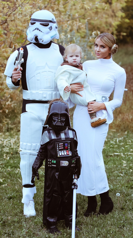 STAR Wars Bambini Halloween Film Ragazzi Ragazze Abiti per Bambini Costume