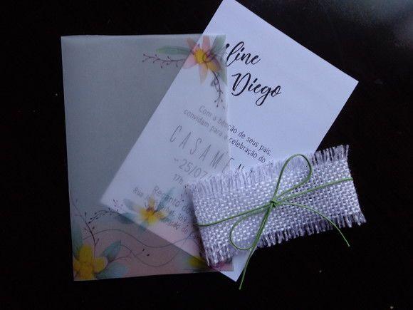 Descrição Envelope Papel Vegetal Convite Papel Criacor Branco 240