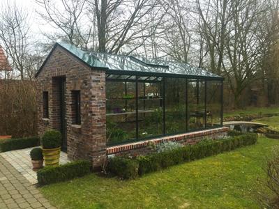 Haus Im Gewächshaus mauergewächshaus nach kundenwunsch bauen gärten
