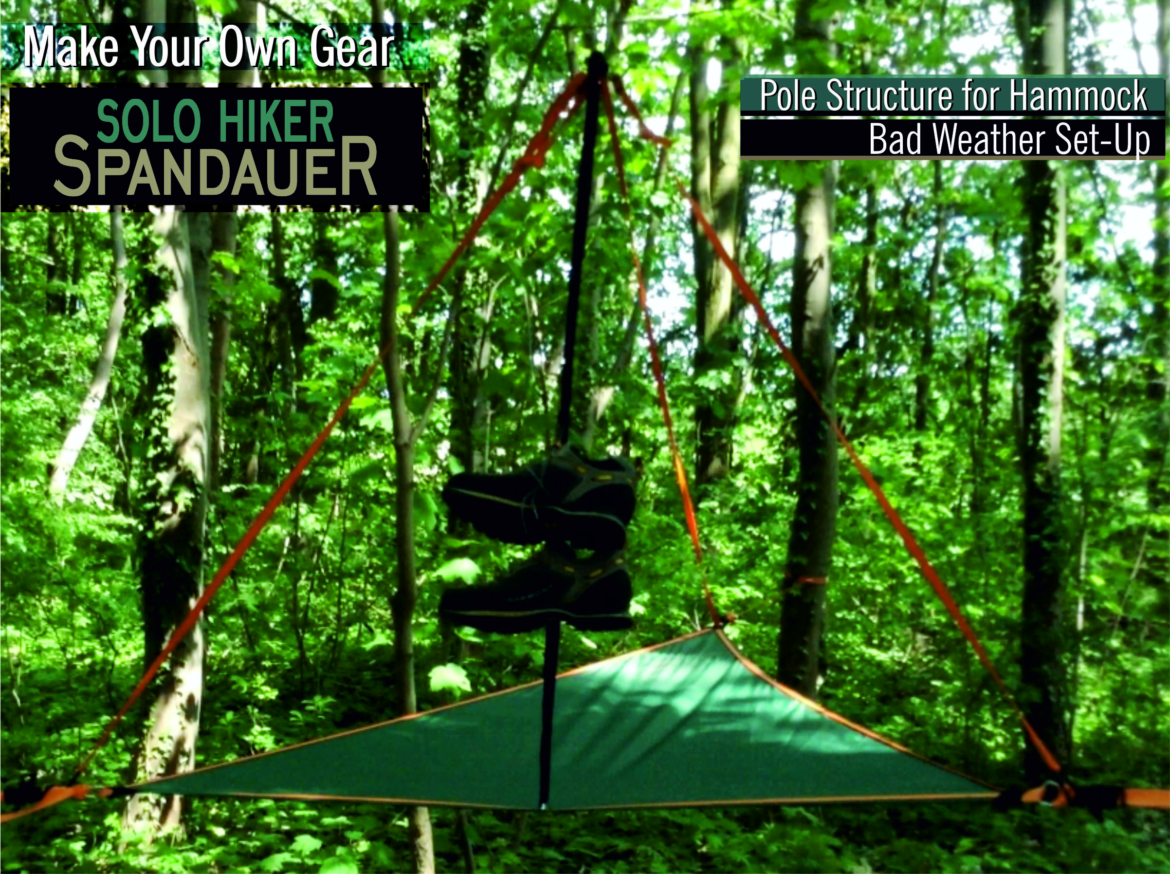 tarp hammock sbtactical the long tent mod pole for ogee