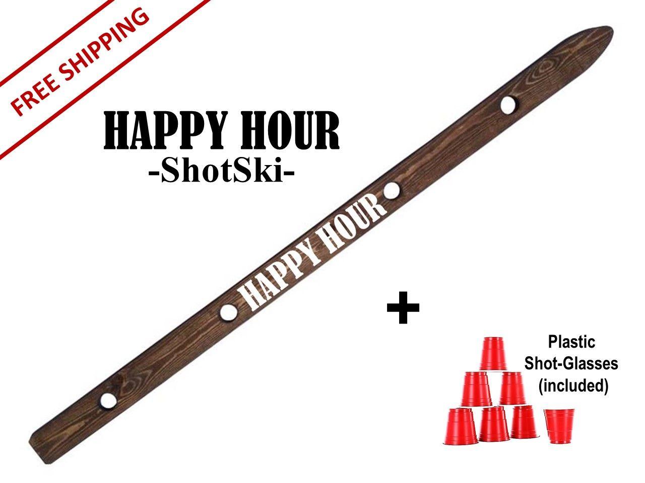 ShotSki 50 +FREE SHIPPING shotski happyhour skishot