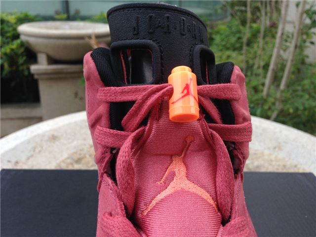 the latest 45154 09708 Authentic Air Jordan 6 Macklemore Red ig linlucy3344 youtube nice kicks6688  twitter https