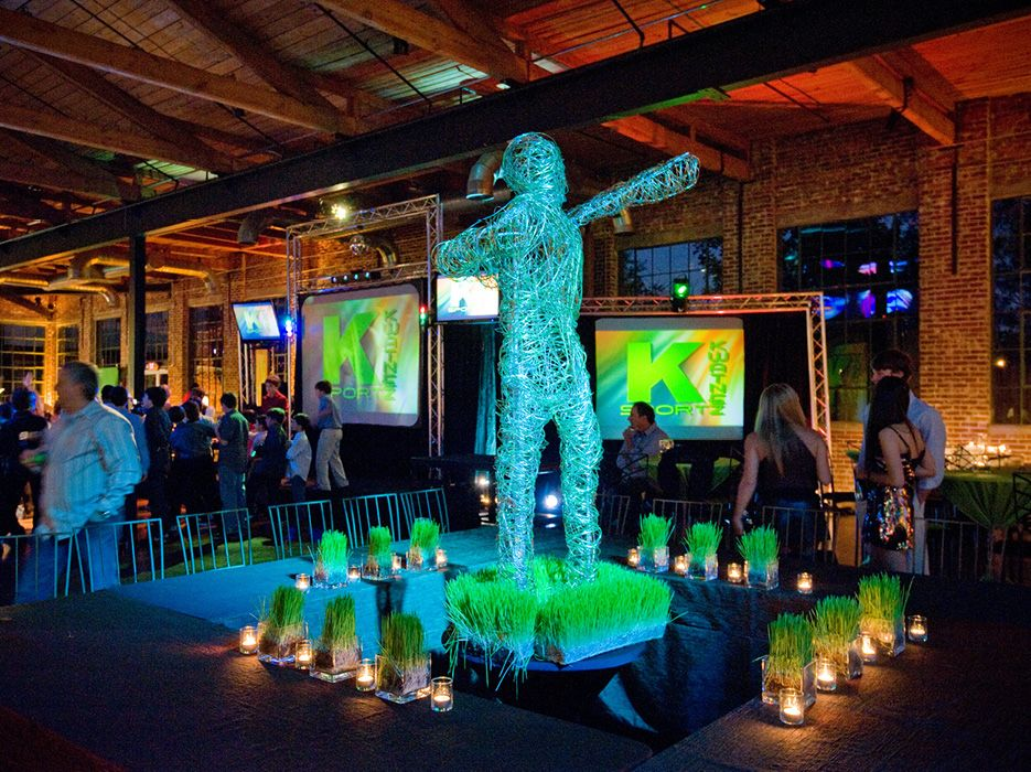 Black and Lime Sports Themed B'nei Mitzvah Bar mitzvah