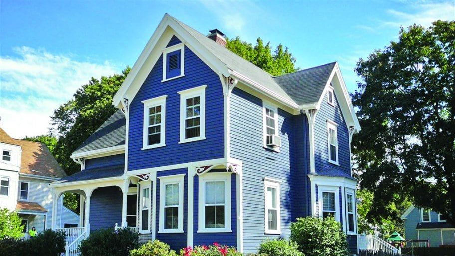 How Much Does It Cost To Paint A House Blue House White