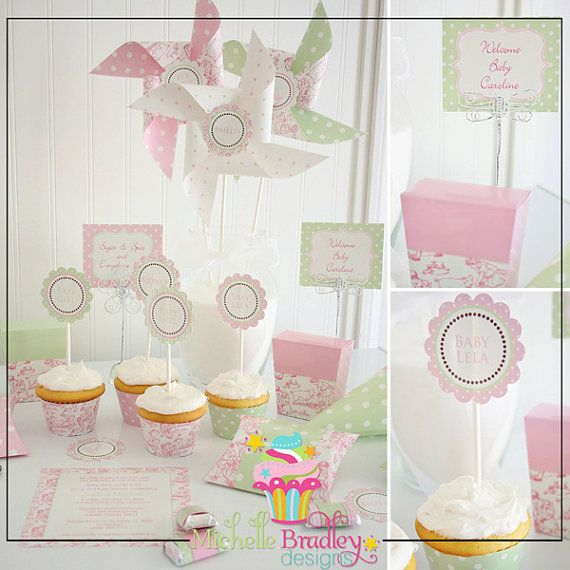 Perfect Colour Scheme for a Baby girl shower for all the girls at work?