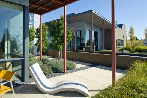 Berkeley Courtyard House   US Architects, WA Design Inc. Have Come Up With A