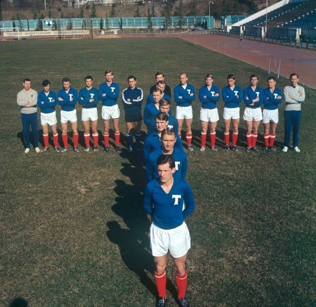 Torpedo Moscow in the 60s.