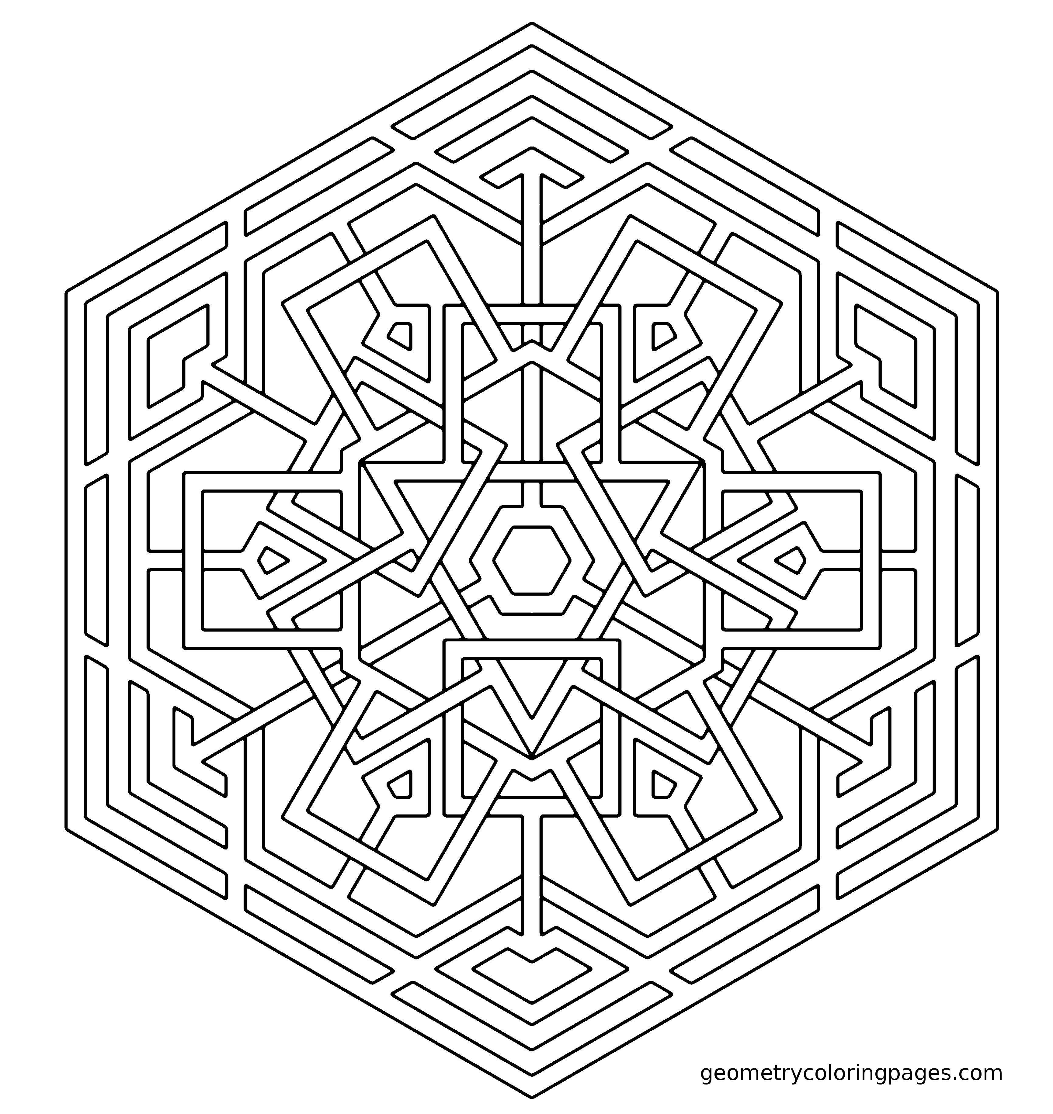 ❤~ Mandala para Colorear ~❤ | ॐ☮☯ MANDALAS y MÁS ☯☮ॐ ...