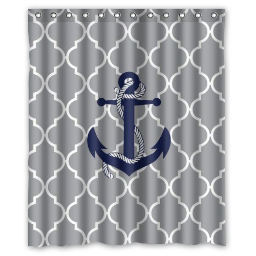 Best Anchor Shower Curtains Anchor Shower Curtains Girls Shower