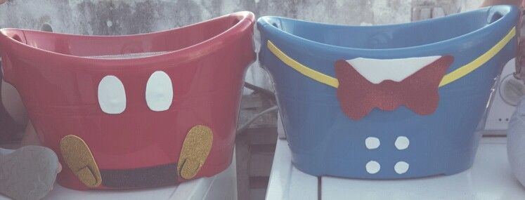 Mickey and Donald Bucket party