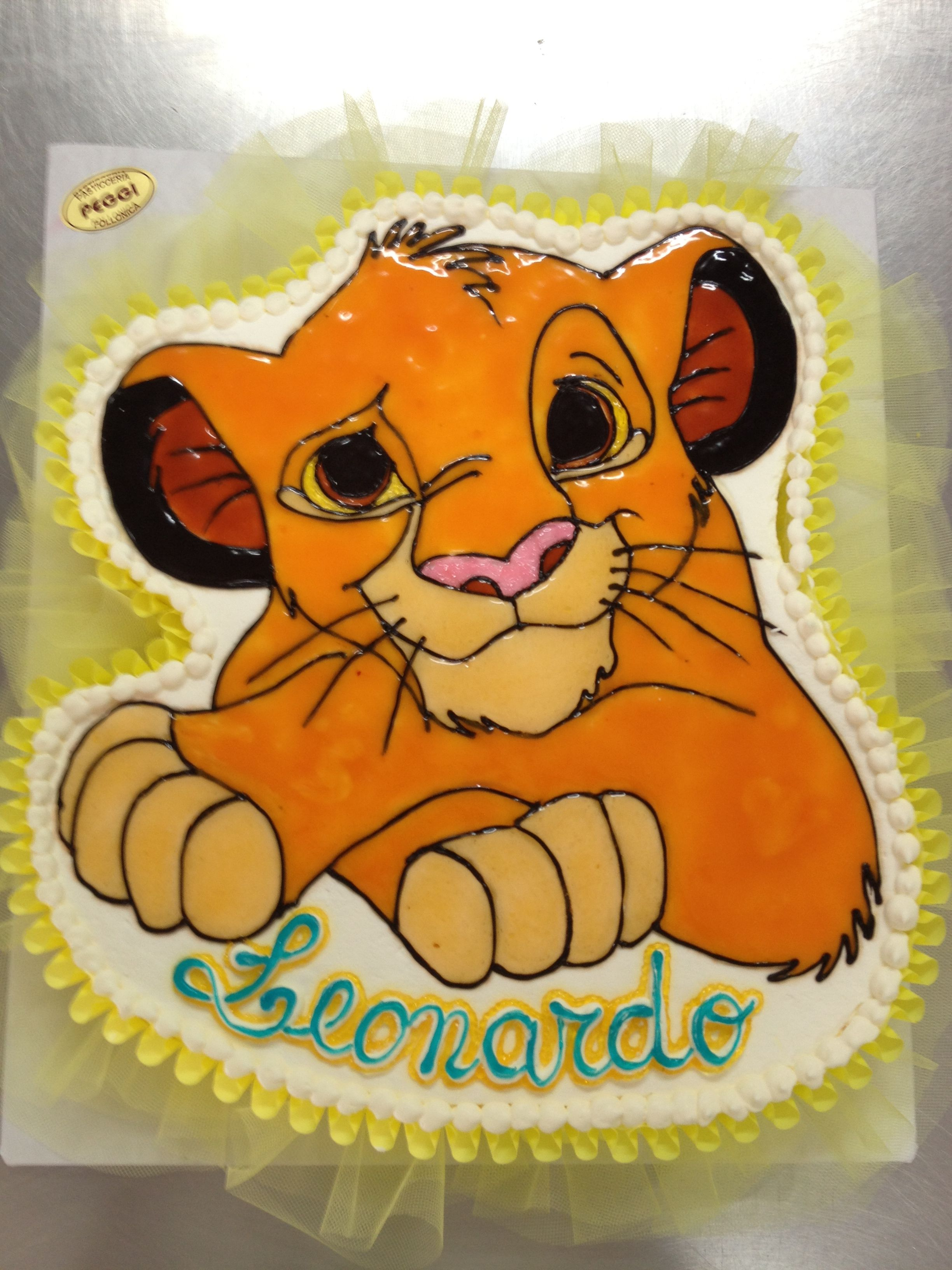 Simba Cake Lion King Cakes Disney Cakes Baby Shower Cakes