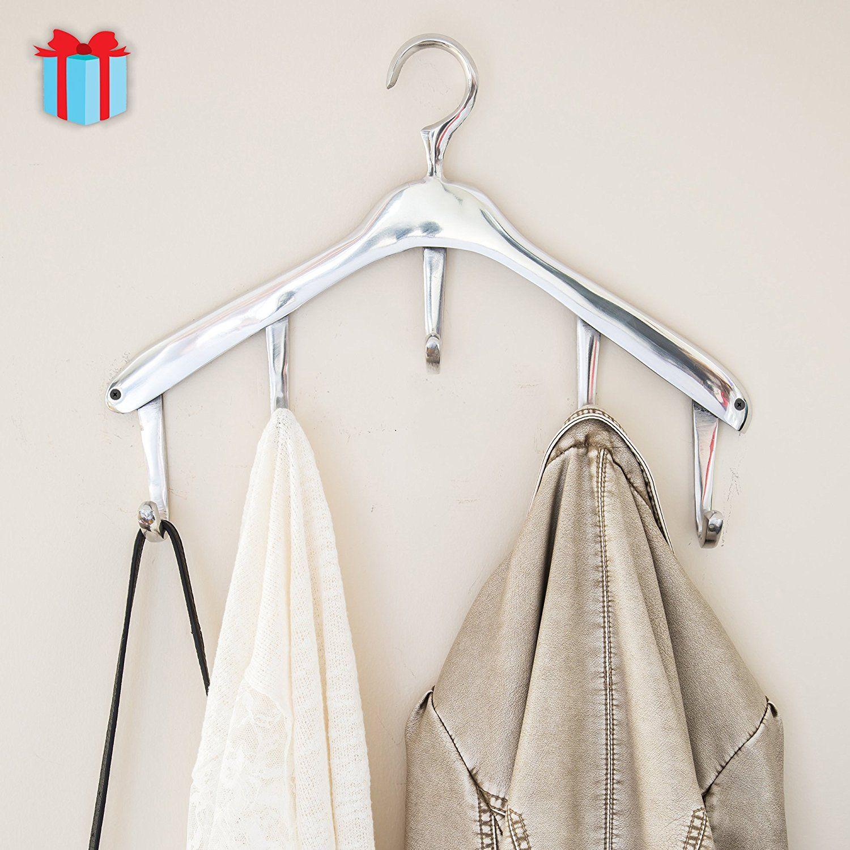 vintage wall mounted hanger coat hooks