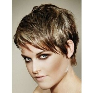chic hair style brown and pixie haircuts brown and 6605
