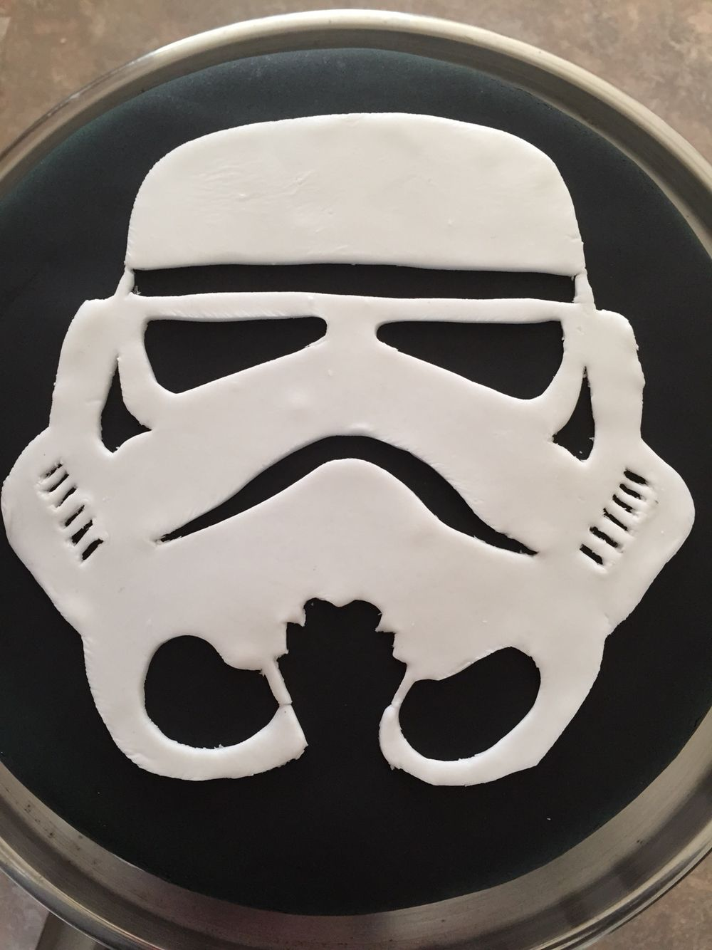 8th birthday storm trooper cake for dominic cakes i love. Black Bedroom Furniture Sets. Home Design Ideas