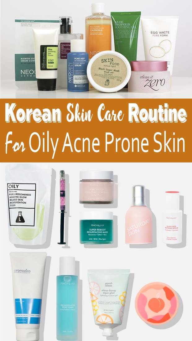 Korean Skincare Routine Steps Combination Skin In 2020 Korean Skincare Routine Korean Skincare Treating Oily Skin