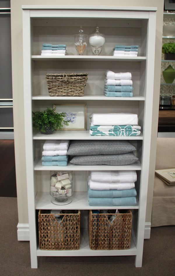 good better best linen closet steven and chris - Bathroom Closet Designs