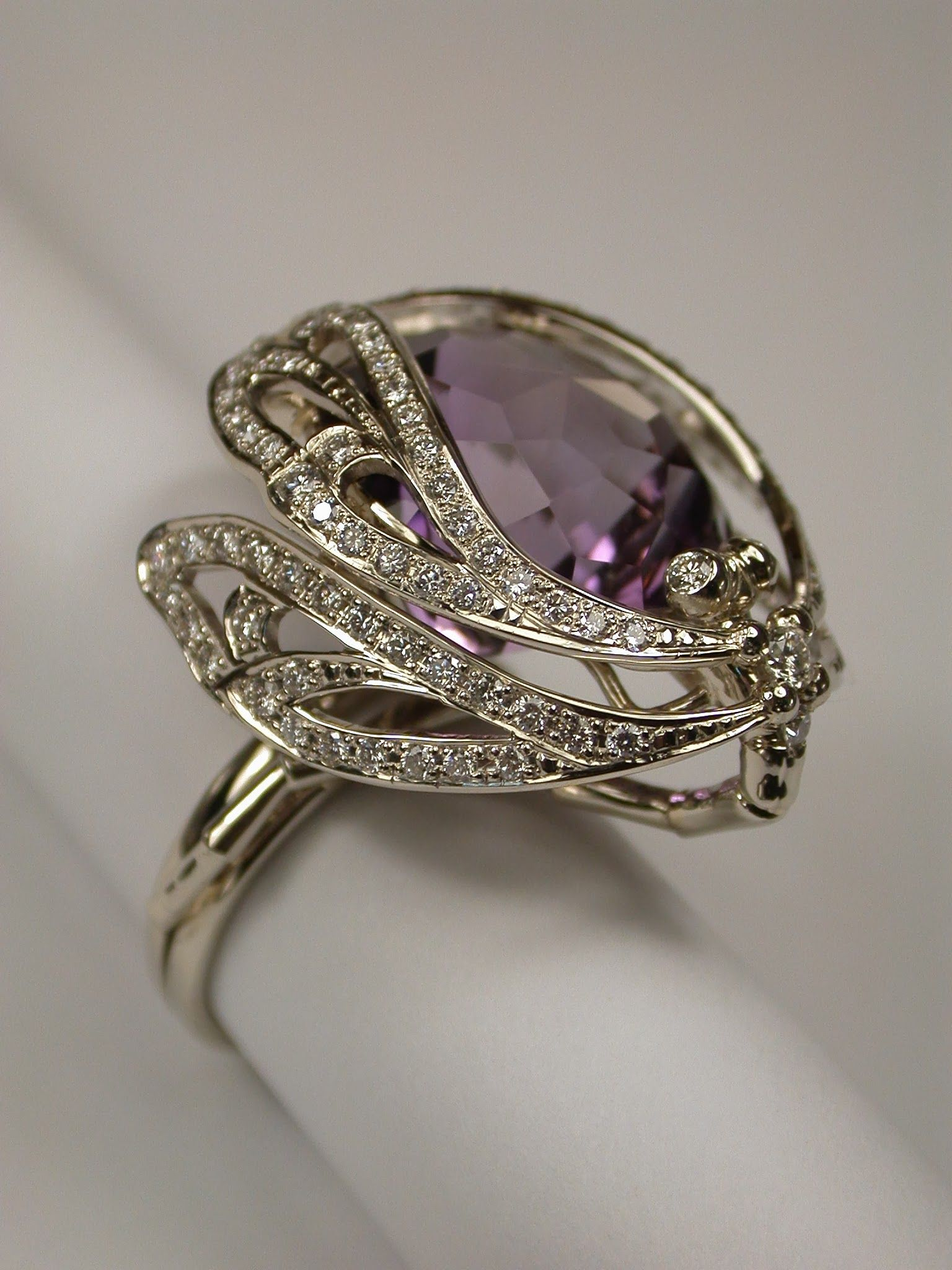 ring new rings diamond love oriudnz wedding dragonfly true promise engagement