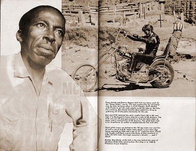 6ad73297 BEN HARDY, born Benjamin F. Hardy, was an African-American motorcycle  engineer and chopper builder, who is best known for creating the customized  choppers ...