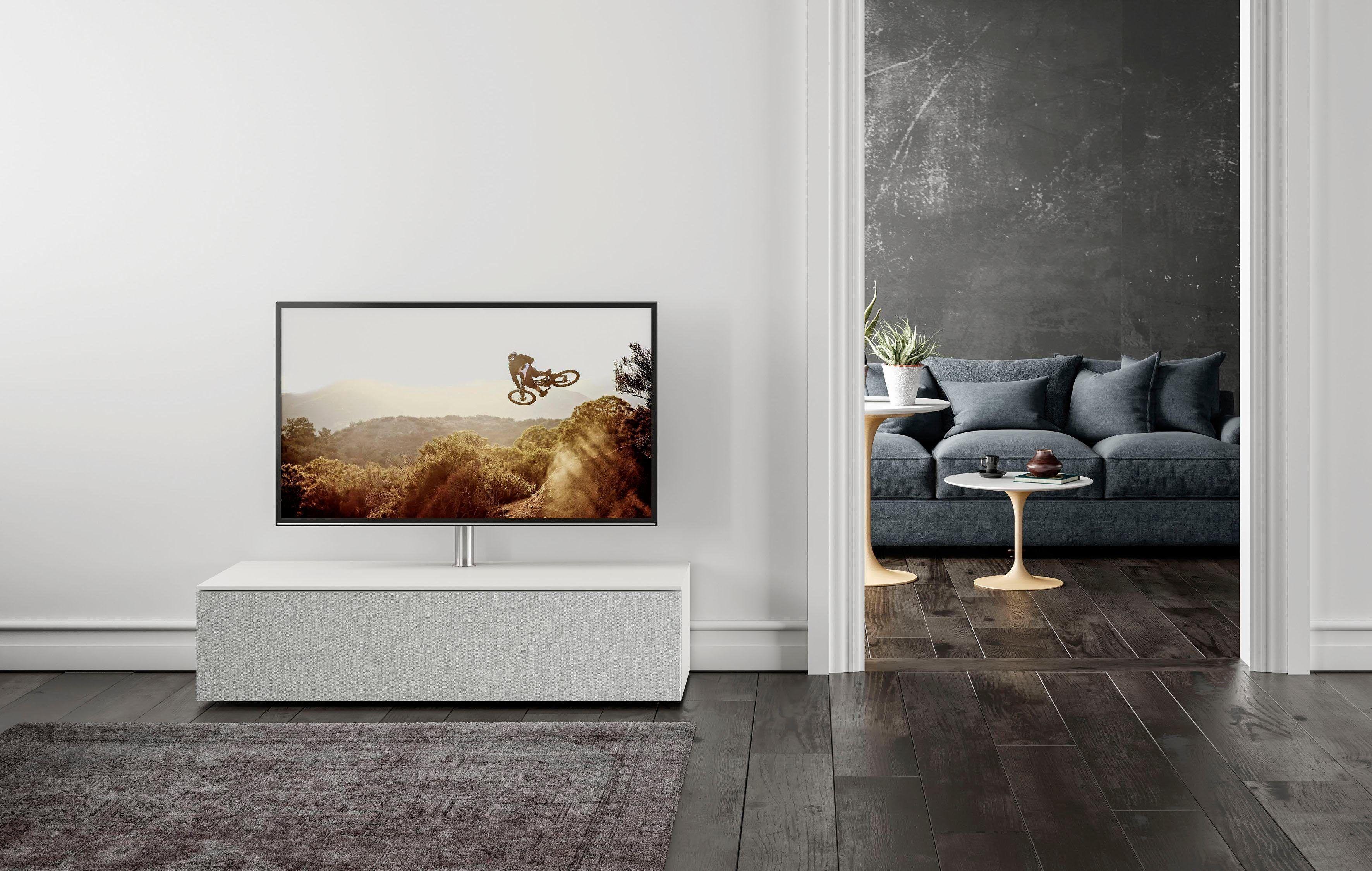 Sound Lowboard Wahlweise Mit Tv Halterung Select Weiss Breite 140