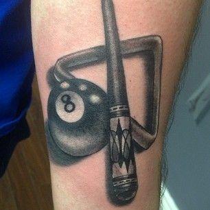 billiard tattoos google search tattoos u003c3 pinterest tattoo rh pinterest com billiard ball tattoos 8 Ball Tattoo Flash
