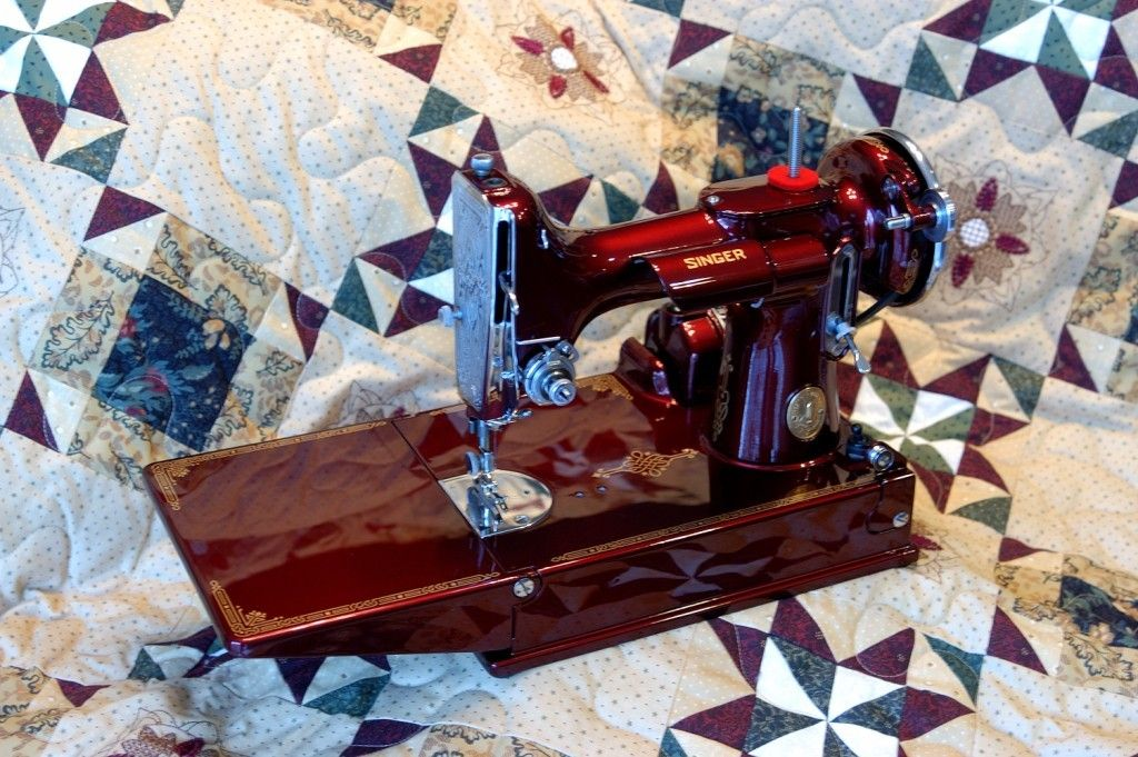 One of our restored custom Featherweights, done in Kandy