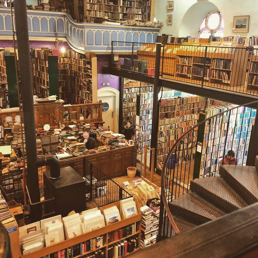 Scotland's most charming secondhand bookshop, Leakey's in Inverness