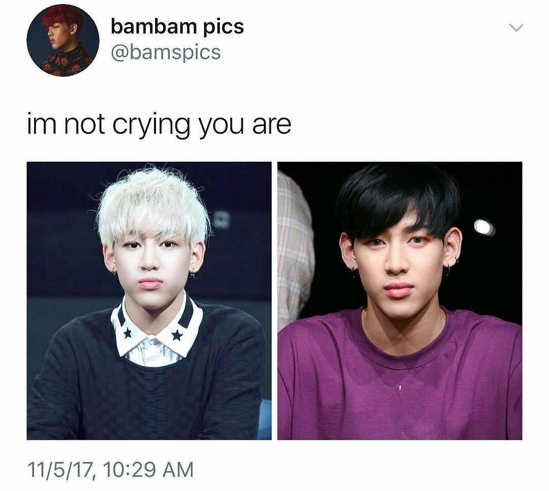 Got7 bambam crying fanfic