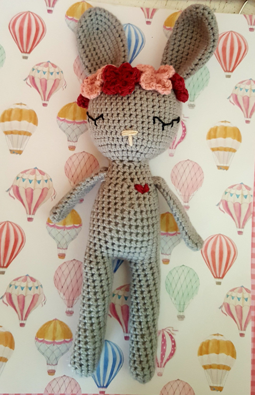 Épinglé par Andreac Coralie sur Crochet en 2020   Doudou lapin ...   3000x1935