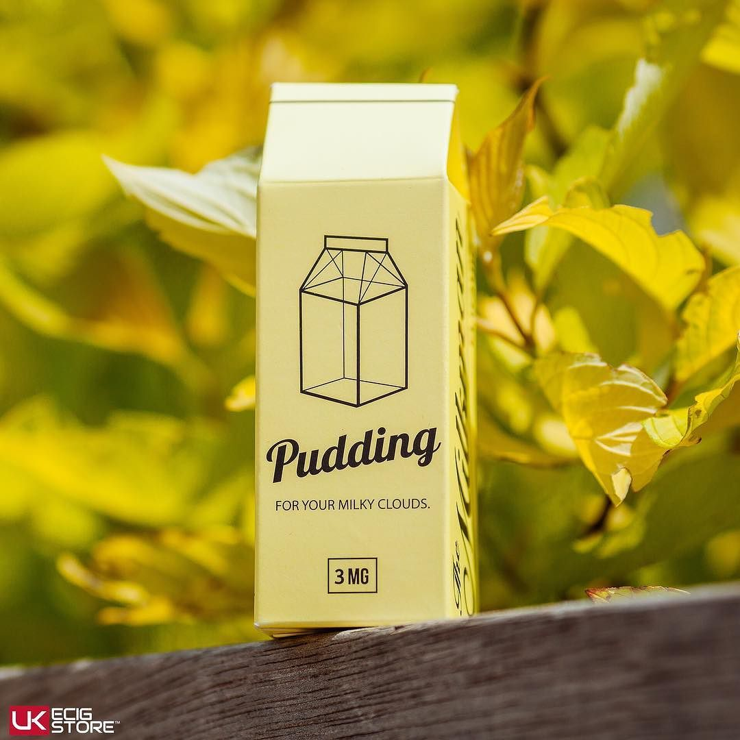 Milkman - Pudding  Prominent Flavours: Vanilla Pudding Sweet Lemon  Available in store & online - http://buff.ly/2g50bs5  #Milkman