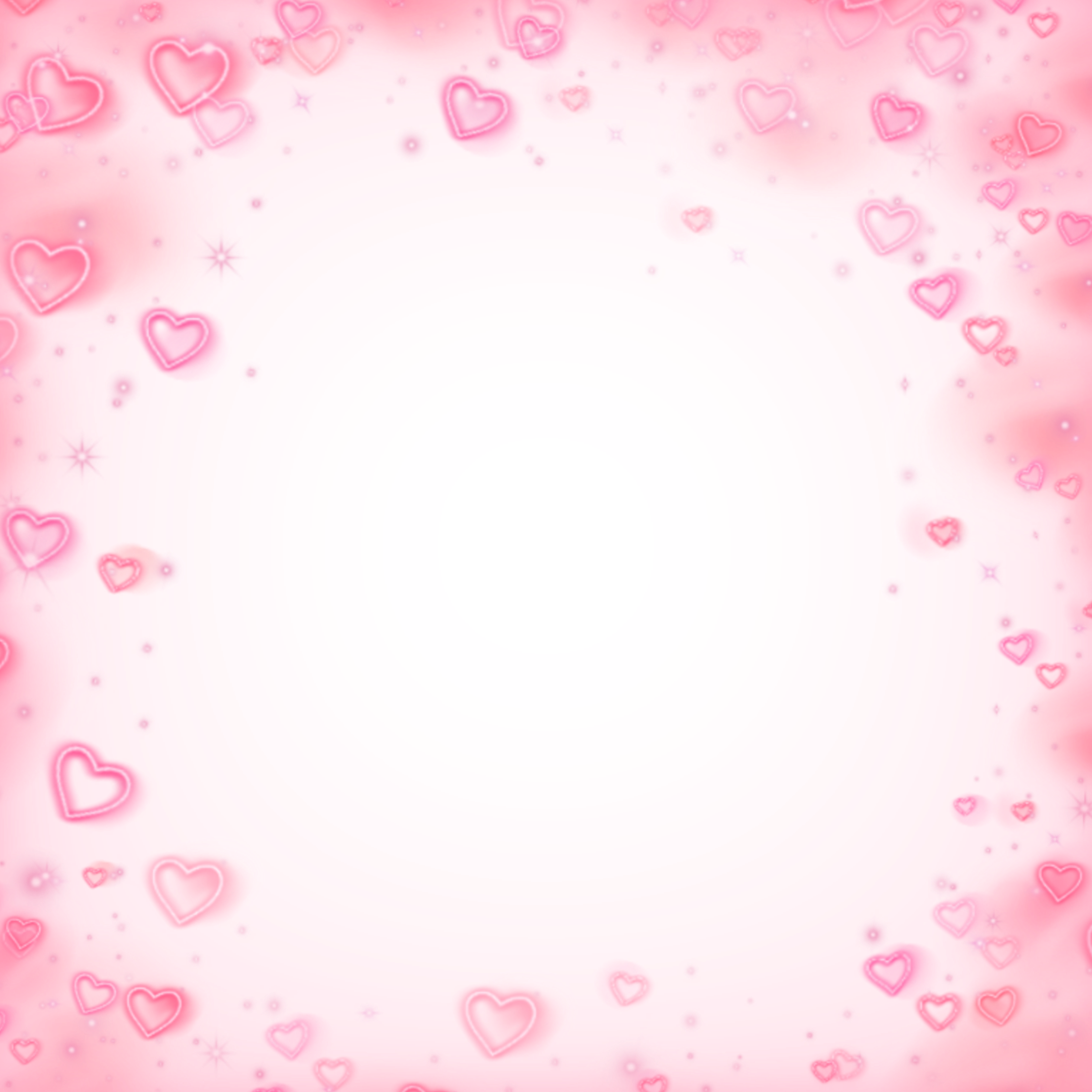 Freetoedit Heart Border Square Pink Cute Kpop Remixed From Taebff In 2020 Overlays Transparent Baby Pink Aesthetic Overlays Picsart