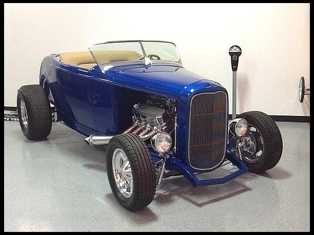 1932 Ford Roadster Street Rod 468/550 HP, Steel Body for sale by