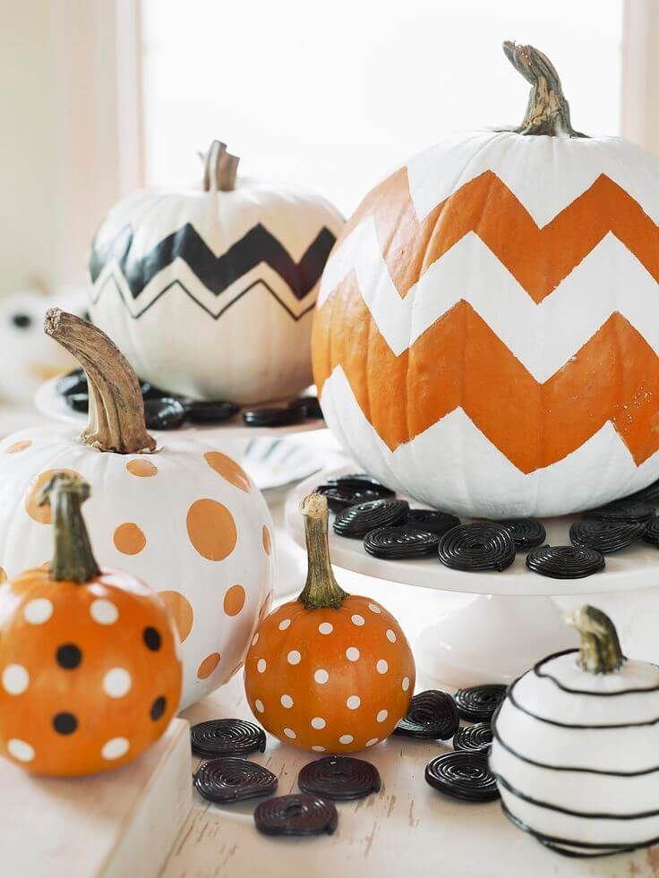 28 Amazing No-Carve Pumpkin Decorating Ideas for Crafters of All