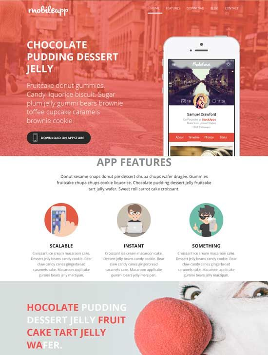 Pin by 현욱 강 on mobile service introduction template | Pinterest ...