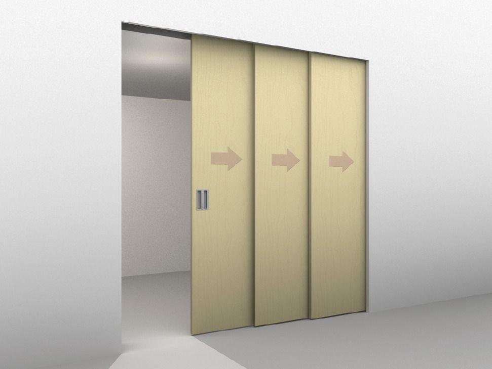 Sliding Door Hardware Hawa Telescopic 80 3 For 3 Doors Set In The Hafele America Shop Sliding Doors Sliding Door Hardware Closet Door Hardware