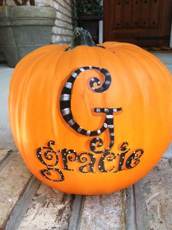 40+ Cool No-Carve Pumpkin Decorating Ideas Pumpkin decorating