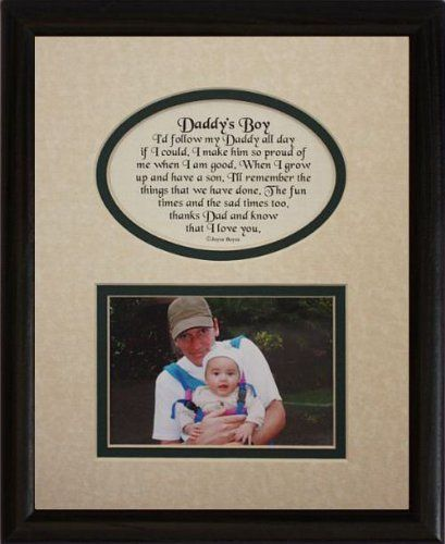 2399 2499 Baby 8x10 Daddys Boy Picture Poetry Photo Gift