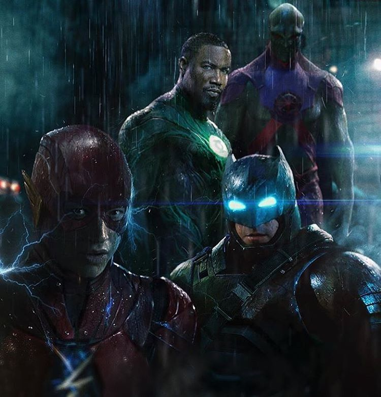 Marciano,Green Lanter,Flash,Batman
