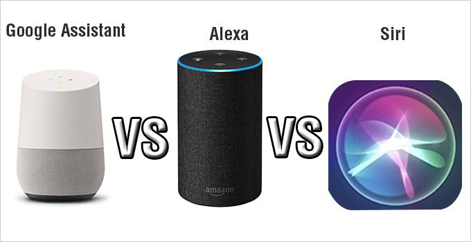 Google Assistant vs Alexa Vs Siri Review Who Has The