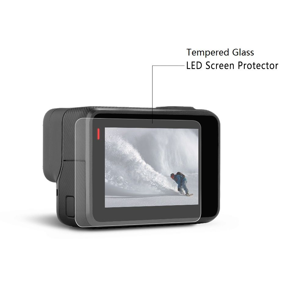 Premium Real Tempered Glass Screen Film Protector For Gopro Hero 5 Sports Action Camera  accessories GoPro Hero 5 Accessories  #Affiliate