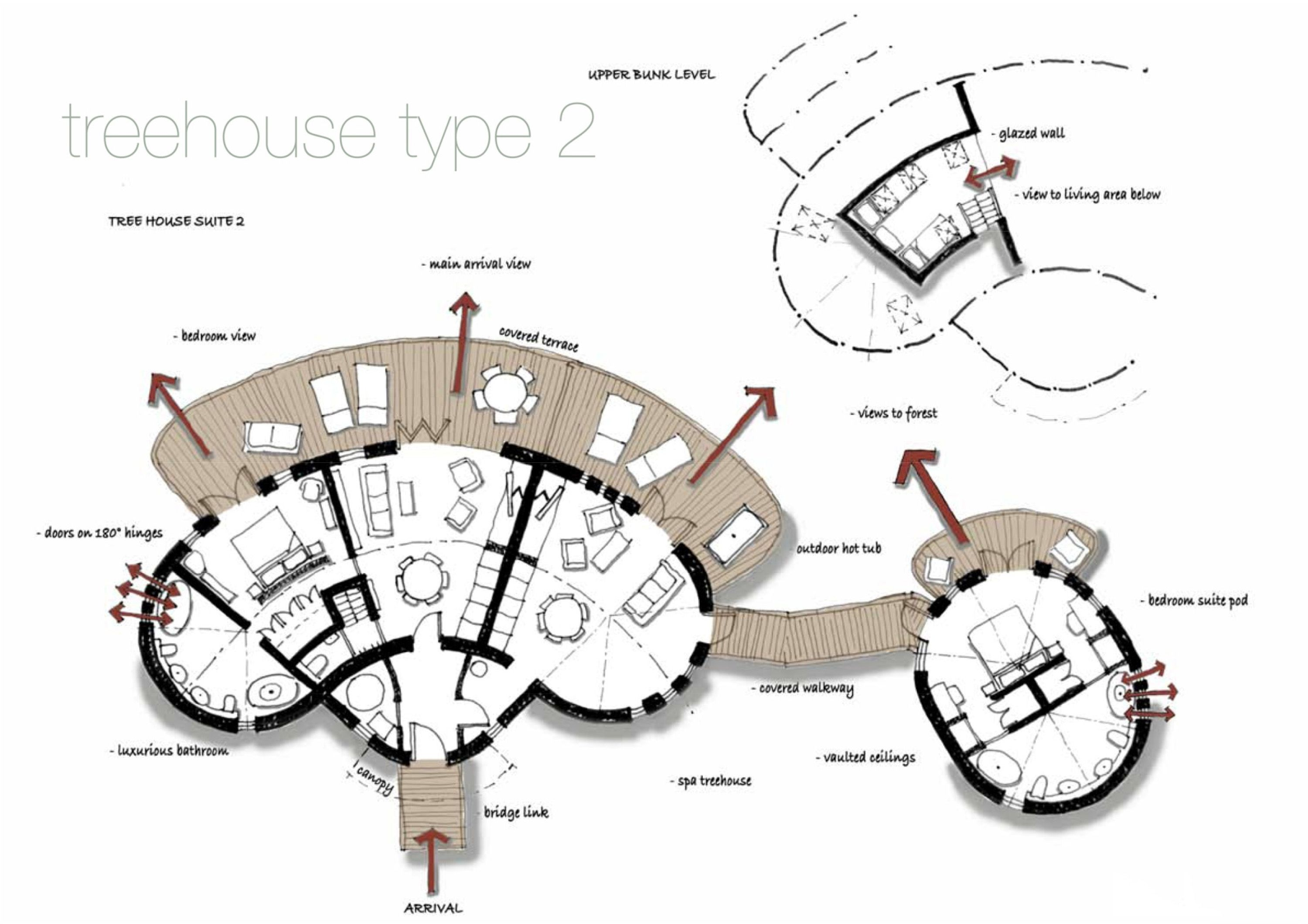 Tree House Floor Plans Google Search Tree House Designs Tree House Plans Tree House