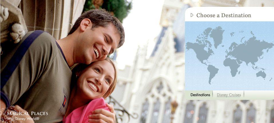 Luna de miel mágica con Disney's Fairy Tale Honeymoons