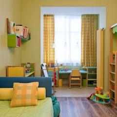 Dormitorios infantiles de estilo moderno por А-Дизайн
